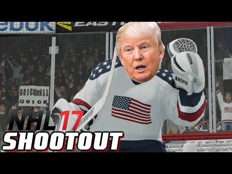 President Trump - NHL 17 - Shootout Commentary ep. 11