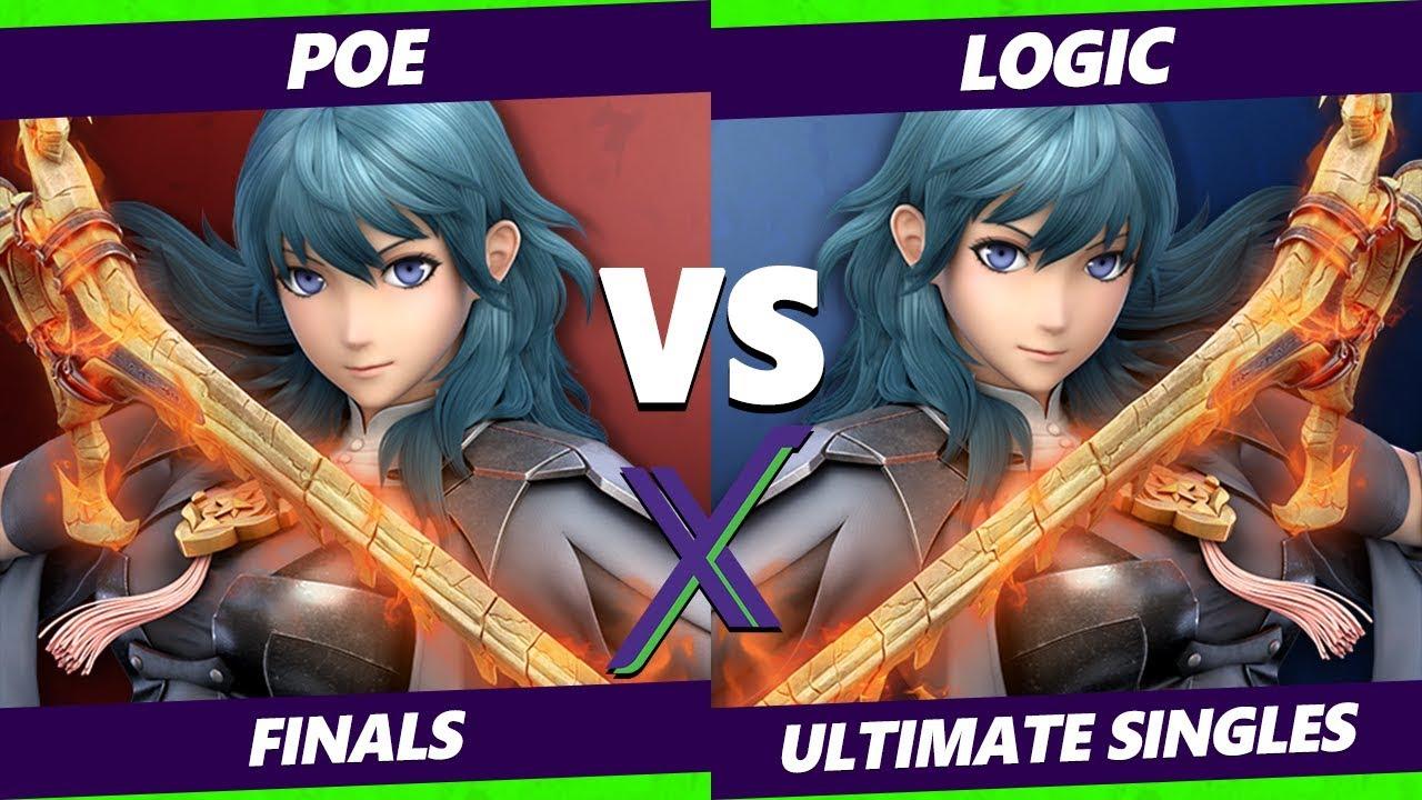 Byleth Exhibition SSBU - Poe Vs. Logic - Smash Ultimate Finals
