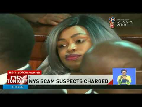24 NYS scandal suspects deny charges in court