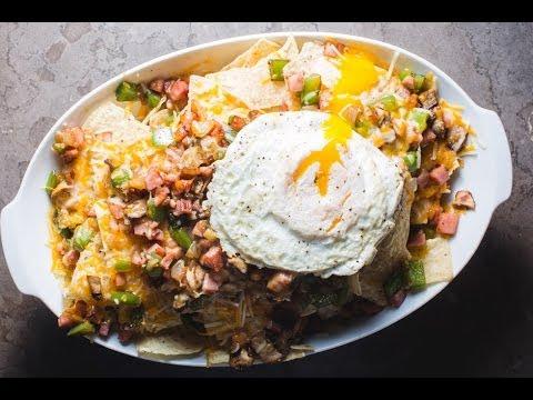 Denver Omelet-ish Nachos
