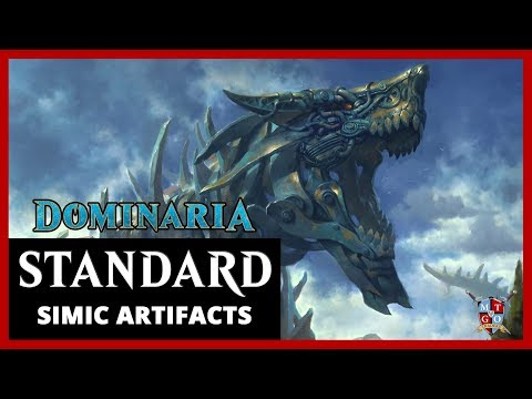 MtG: Simic Artifacts Dominaria Standard Deck Tech