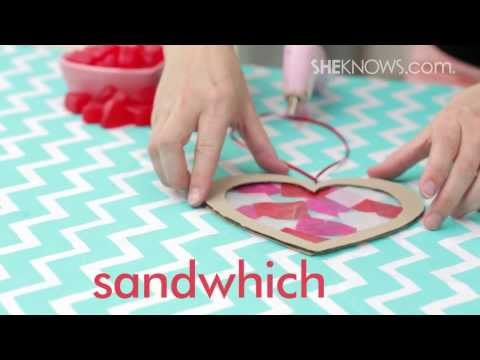 Make a Valentine's Day Sun Catcher