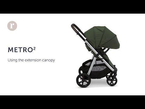 METRO² Pram - using the Extension Canopy