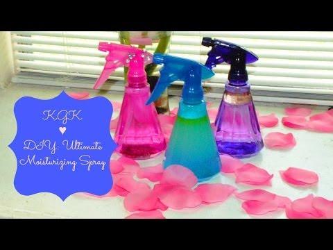 KGK ♥ DIY: Ultimate Moisturizing Spray