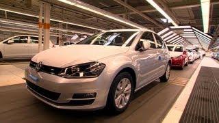 VW Golf Mk 7 Production Line, Wolfsburg