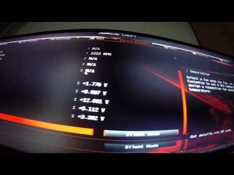 H80i Fan speed value fails to change (BIOS)