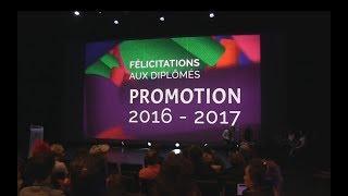 Cérémonie de remise des diplomes GOBELINS 2016 2017