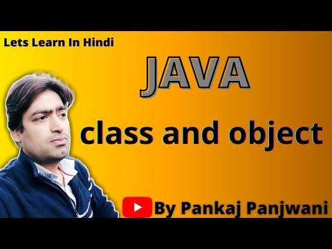 class and object in Java By Pankaj Panjwani | Part 1 | Hindi