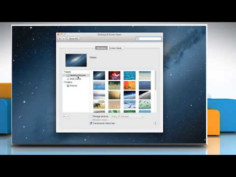 How to Change the Wallpaper Automatically in Mac® OS X™