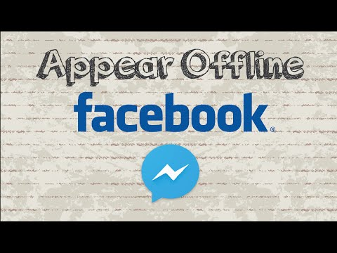 How to appear offline on Facebook Messenger | Mobile App (Android & Iphone)