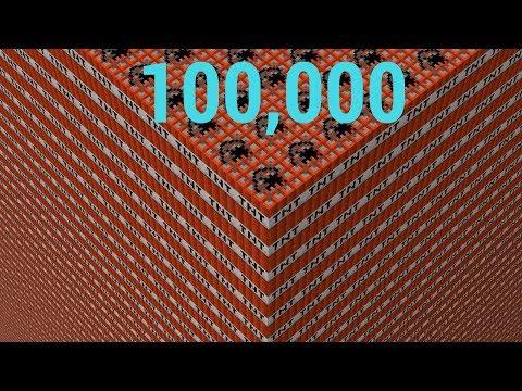 100,000 TNT vs Computer//Minecraft