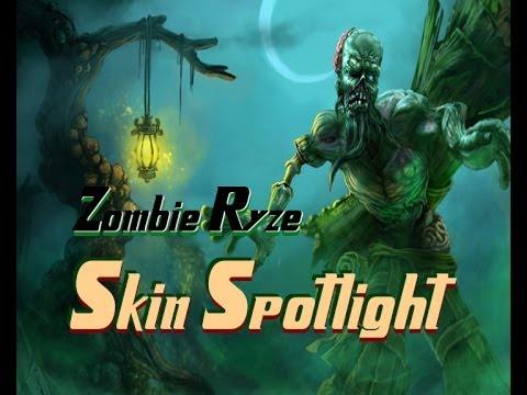 Zombie Ryze Skin Spotlight - League of Legends