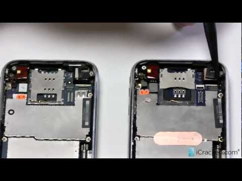 Official iPhone 3G / 3GS Full Assembly Replacement / Screen Repair Video - iCracked.com