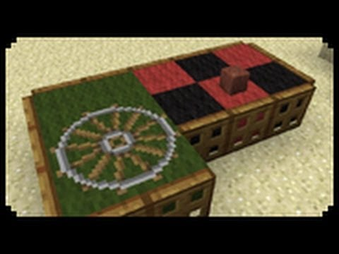 ✔ Minecraft: How to make a roulette table