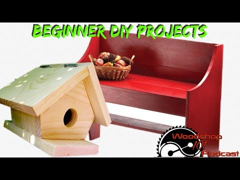 Woodshop 101 #093 : Beginner DIY Projects