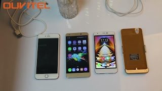 OUKITEL K7000 Matrix- charge for K7000, K6000 Pro and iPhone 6plus