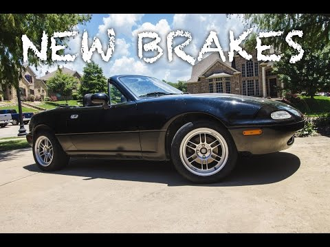 Installing New Brakes on Project Miata