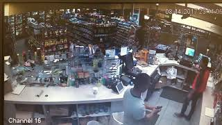 Flip-flop wearing suspect in Mobile robs gas station at gunpoint