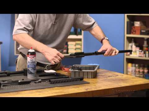 Firearm Maintenance:Remington  Versa Max  Cleaning — Part 2/4