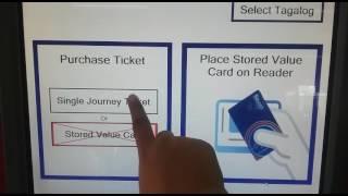 How to Buy and Use Manila LRT MRT Beep Card Vending Machine Single Journey Ticket