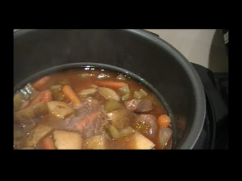 Venison Stew in the Power Cooker