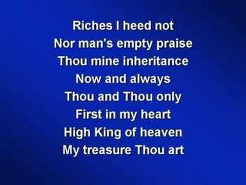 Be Thou My Vision (worship video w/ lyrics)