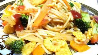 Noodles recipe │ Vegetable Noodles Recipe