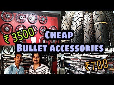 Cheap bullet accessories || Royal bullet accessories world || KAROL BAGH [Delhi]