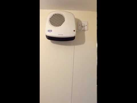 Bathroom Heater Usage Instructions, Guide, How To, User Manual Creda CDF2S