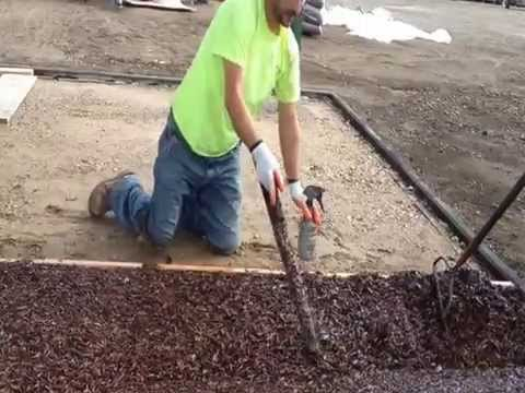 Recreation Today - Bonded Rubber Surfacing Installation-Video 1 of 2