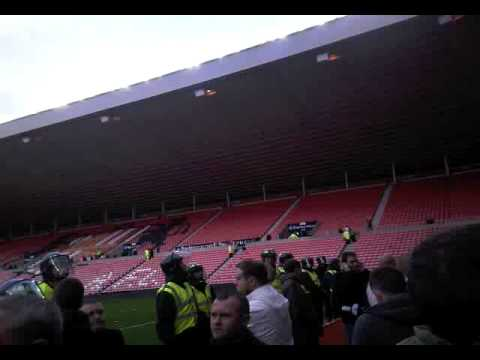Newcastle Fans Held In The Stadium Of Light