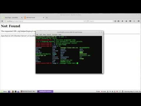 Cara install SQL-ledger dg Xampp di Linux Mint 18.1
