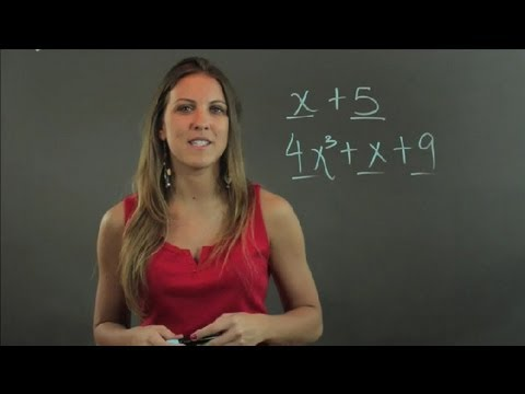 What Is a Non-Factorable Polynomial? : Lessons in Math