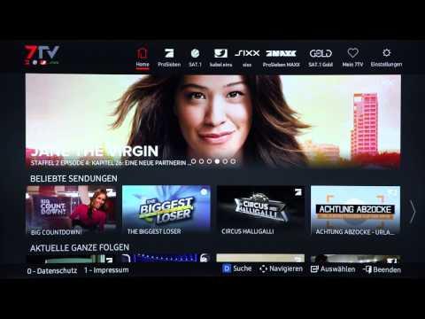Samsung Smart TV: Verwendung von Apps
