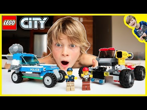 Lego City Police Dirty Cops Rob the Bank MOC!