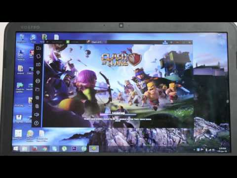 CLASH OF CLANS (How to play coc on your laptop ,pc)