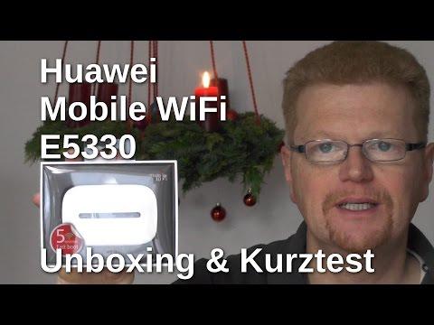 Huawei Mobile WiFi E5330 Kurztest - www.technoviel.de