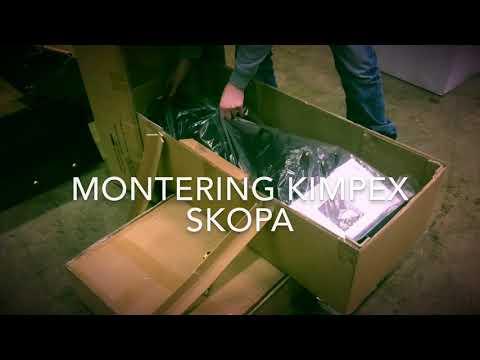 Montering Kimpex Click N Go 2 Skopa