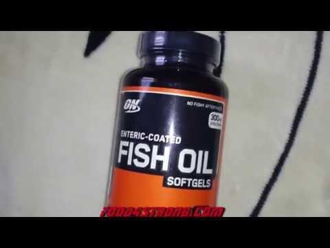 Омега Optimum Nutrition Enteric Coated Fish Oil