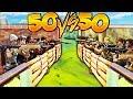 NOUVEAU MODE 50 vs 50 sur FORTNITE Battle Royale !! [PS4]