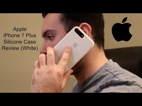 Apple iPhone 7 Plus Silicone Case Review (White)
