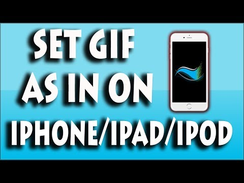 How to set gif as wallpaper on iphone/ipad/ipod (gifpaper) !
