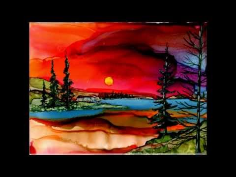 ALCOHOL INK ART BY JEWEL
