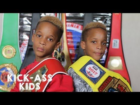 Xxx Mp4 9 Year Old Twins Are Boxing Champions KICK ASS KIDS 3gp Sex