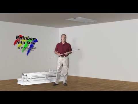 Rainbow Attic Stair - F Series Folding Attic Ladder