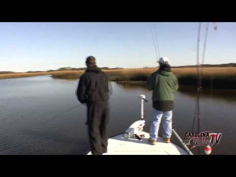 Carolina Fishing TV - Season 3/14 - Southport Redfish!