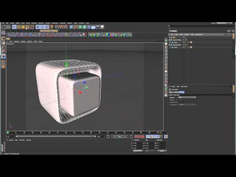 Sub-D Modeling in C4D - Lesson 6 - Object Manager Hierarchy, Nesting, and Constraints