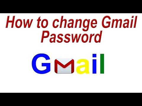 How to change Gmail Password | How to change Google Account Password