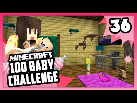 THEY LOVE THE NEW ROOM! - Minecraft: 100 Baby Challenge - EP 36