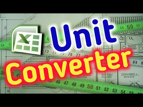 Excel unit conversion Chart list